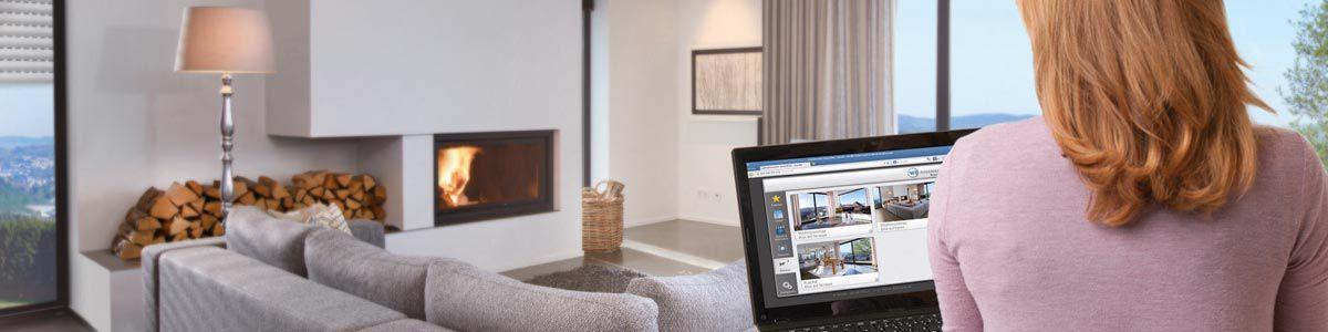 Moderne Hausautomation Im Wohnzimmer Von Rademacher